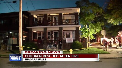 More than 20 people rescued from Niagara Falls apartment fire