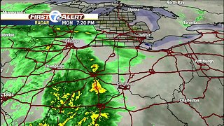 Metro Detroit Forecast: Rain and wind for Election Day