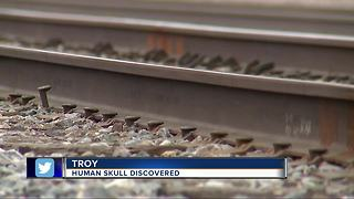 Human skull discovered in Troy, police say - Video