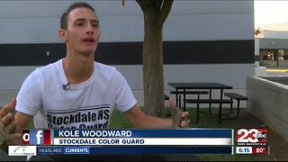 Stockdale High School Color Guard gears up for promising year - Video