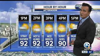 Friday night weathercast - Video