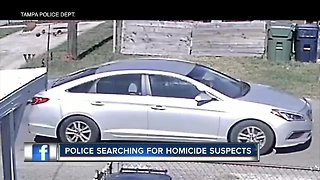 Tampa Police search for homicide suspects