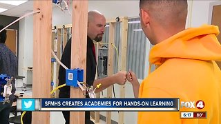 South Fort Myers High School students participate in career-based academies