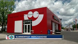 Summerfest Store workers prepare for opening day - Video