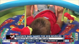 Check This Out: Top baby names of 2019