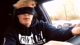 """Jake Paul's """"Bird Box Challenge"""" Video REMOVED From Youtube After He Drives Car BLINDFOLDED!"""
