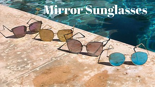 Fashion Trend: Mirror Sunglasses