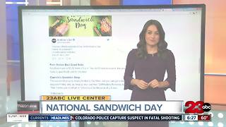 National Sandwich Day Deals - Video