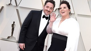 Melissa McCarthy And Ben Falcone Wore Track Suits To The Oscars