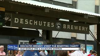 Deschutes Brewery Street Pub benefits charity - Video
