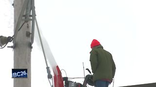 Roof issues continue after winter storm - Video