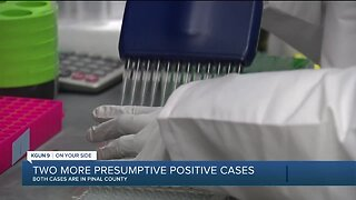 AZDHS confirms two more presumptive positive COVID-19 cases in Pinal County