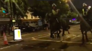 Police Clash With Rashan Charles Protesters in Dalston - Video