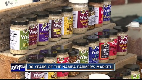 Nampa Farmer's Market gearing up to celebrate 30 years