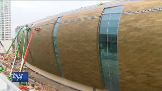 New Bucks arena is nearly 70% complete - Video