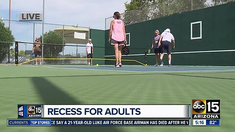 Recess for adults