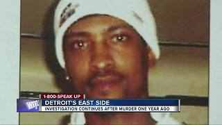 Investigation continues into year old murder - Video