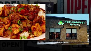 We're Open: New Orleans chef's mouth-watering dishes created for new menu at 'Hop Harvest & Vine'