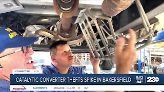 Catalytic converter thefts spike in Bakersfield