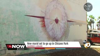 New mural set to go up in Chicano Park - Video