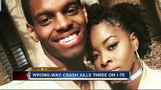 Engaged, expecting couple killed in Thanksgiving wrong-way crash - Video