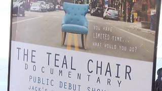 Teal Chair makes debut in Boise - Video