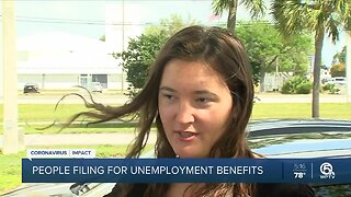 Palm Beach County workers seek unemployment benefits after job cuts from coronavirus