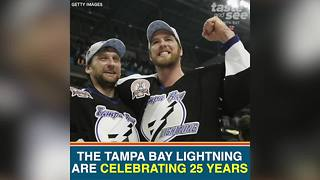 Tampa Bay Lightning celebrates 25 years with new Big Storm craft beer - Video