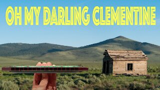 How to Play Oh My Darling Clementine on a Tremolo Harmonica with 16 Holes