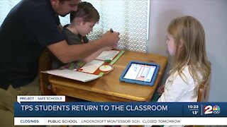 TPS students return to the classroom