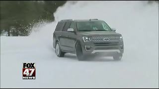 Ford testing out vehicles in the U.P. - Video