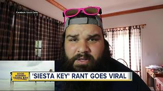 'Siesta Key' reality show prompts local to go on Facebook rant - Video