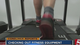 New Fitness Equipment Tested - Video