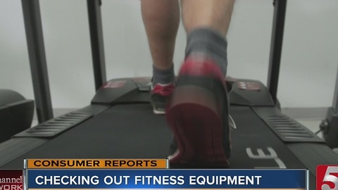 New Fitness Equipment Tested