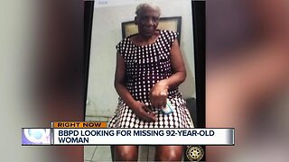 Boynton Beach police are looking to locate a 92-year-old woman