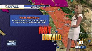 10News Pinpoint Weather with Jennifer Delacruz - Video