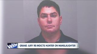 Hunter accused of killing woman re-indicted on Manslaughter charges - Video