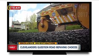 Concerned drivers upset about Cleveland's choices for road repaving - Video