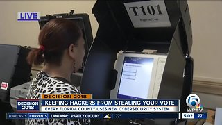 Florida election offices using new technology to prevent hacking on Election Day