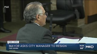 Mayor Anderson calls on city manager to step down