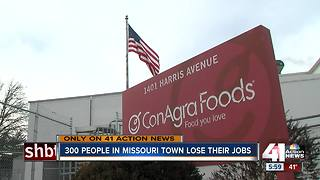 300 people in Trenton, Missouri lose their jobs - Video