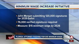 Minimum wage initiative in Florida