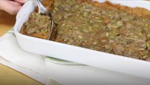 Maple Syrup-Glazed Sweet Potato Casserole - Video