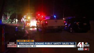 Grandview firefighters ask for tax-funded raise - Video