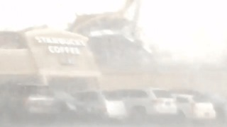 Tornado Smashes Through Starbucks In Kokomo, Indiana - Video