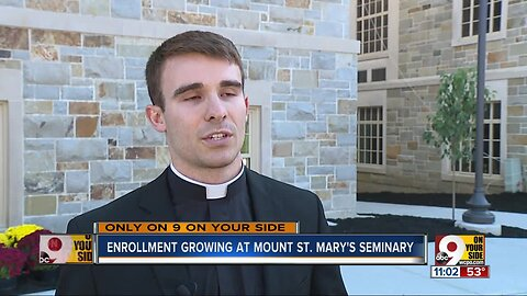 Archbishop blesses 1st new addition to seminary in 50 years