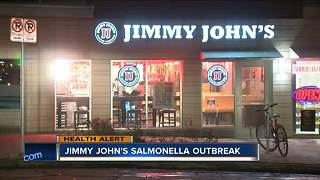 5 ill after eating sprouts at Wisconsin Jimmy John's - Video