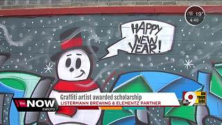 Listermann Brewing Co. helps graffiti artist get scholarship
