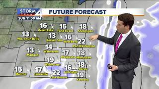 Winter Weather Advisory in Effect Through Noon Sunday - Video