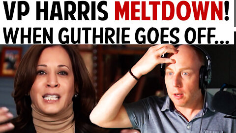 VP HARRIS MELTDOWN! WHEN GUTHRIE GOES OFF...